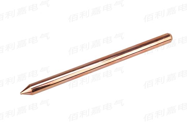 铜包钢接地棒的结构和选材