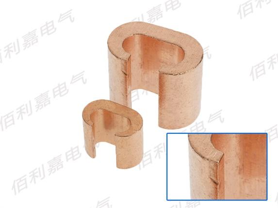C型纯铜接线夹