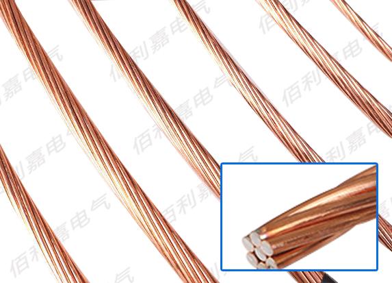 纯铜绞线接地线